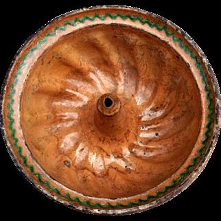 Rare XVIIIth century Kugelhopf cake mold