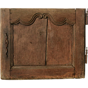 Little charming French oak door Louis XV era 18th century