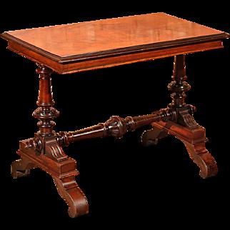 Victorian Mahogany Library Table, c.1860