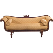 Regency Sofa Day Bed, English c.1830