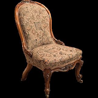 Regency Antique Chair, English Walnut c1820