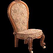 Antique Nursing Chair, English Regency c1820