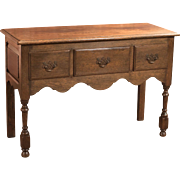 Antique Dresser Base, Edwardian Lowboy c1910