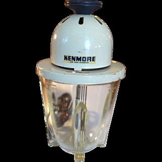 Vintage 3 cup Kenmore Electric Mixer