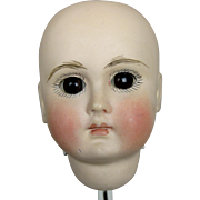 Antique French Face 183 Belton Bisque Doll Head ~ Restored