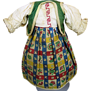 Antique German Doll Dress