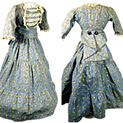 French Fashion Doll Dress ~ Small Print