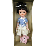 Vintage 1958 Horsman Tweedie Rare Vinyl Doll A/O in Original Box