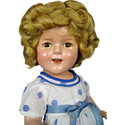 Ideal Shirley Temple 1930's Composition Doll