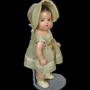 Dionne Quintuplet 1930s Composition Cecile Doll Madame Alexander Excellent!
