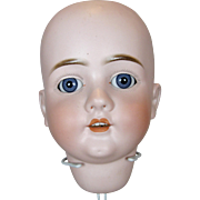 Huge German Antique Doll Head