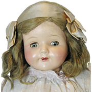 "Effanbee Rosemary Composition Mama Doll ~ 27"", Completely Factory Original"