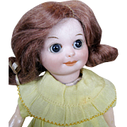 "Adorable 7"" Googly 253 Nobbi Kid AM Marseille Antique Doll"
