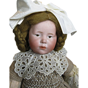 K*R Kammer Reinhardt 101 Mold Marie Brown Eyed Antique German Doll