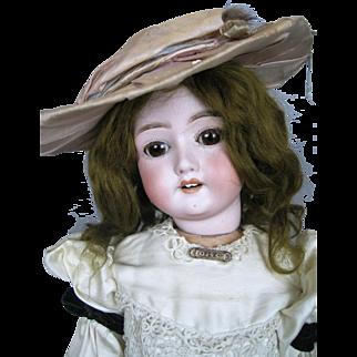 Antique German Bisque Head Doll ~ So Sweet!