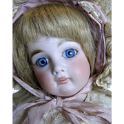 Sweet French Face Antique Belton Closed Mouth Sonneberg German Doll