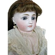 German Closed Mouth Antique Child Fashion Doll