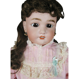 Antique Simon Halbig Dressel COD Bisque Head German Doll