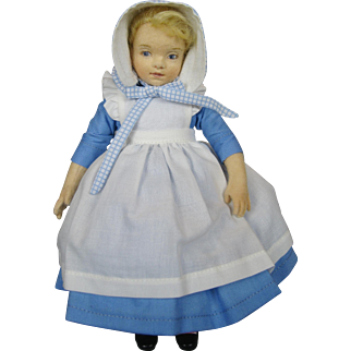 R John Wright Sylvie Ann UFDC 2016 Convention Dinner Event Doll ~ Tasha Tudor MIB