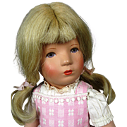 Vintage Kathe Kruse Doll ~ US Zone Germany