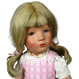 Vintage Kathe Kruse Doll ~ US Zone Germany