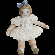 Tiny Miniature Doll House Artist Dolls