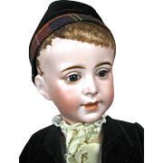"16"" Antique French SFJB Character Doll, Mold 237, A/O"