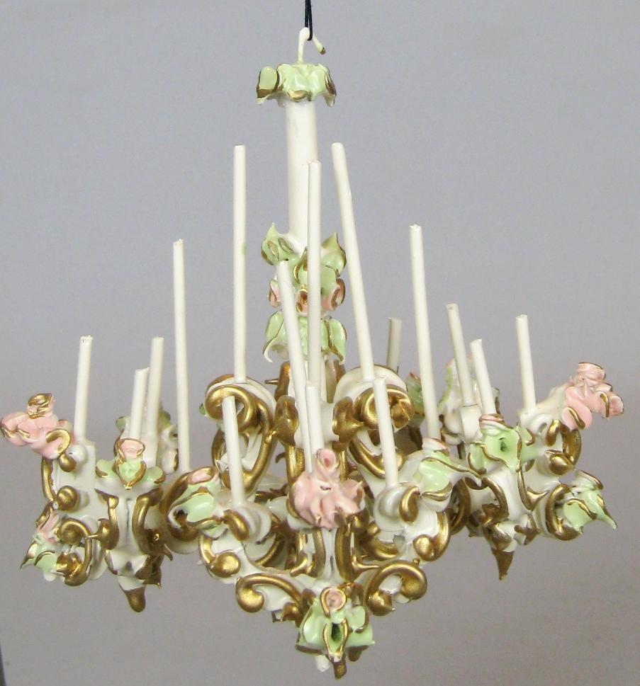 Vintage spielwaren szalasi ornate chandelier candelabra clock roll over large image to magnify click large image to zoom arubaitofo Images
