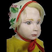 Unusual 1920s Swedish Artist Doll