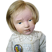 Schoenhut Wood Pouty Character Doll