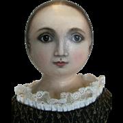 Susan Fosnot Oil Painted Face Cloth Artist Doll OOAK
