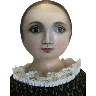 Susan Fosnot Oil Painted Face Cloth Artist Doll OOAK