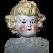 "13"" Blonde Child China Head German Doll"
