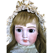 "Gorgeous 23"" French Face German Belton Doll ~ HTF Large Size!"