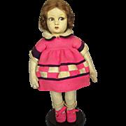 Lenci Vintage Felt Doll Model 450