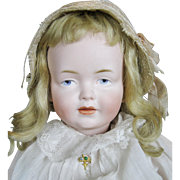 Sweet Antique Kley & Hahn Character Doll ~ Rare Mold 536, Gold Horse