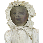 Babyland Rag Cloth Doll with Life-like Baby Face