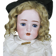 Antique German Simon Halbig K*R Bisque Head Doll - Red Tag Sale Item