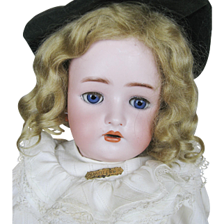 Antique German Simon Halbig K*R Bisque Head Doll