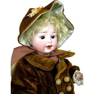 Adorable German Antique PM Toddler Baby Doll