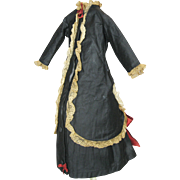 Antique French Fashion Doll Dress