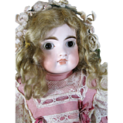 "16"" Antique Belton German Bisque Head Doll for French Market"