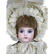 "Antique 14"" Closed Mouth French FG Francois Gaultier Bebe Doll"