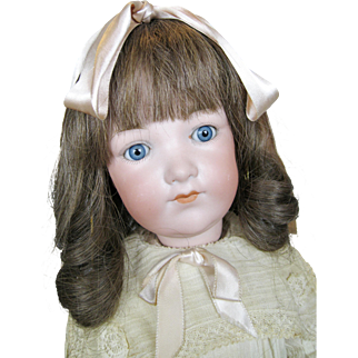 Armand Marseille Character Doll with Minty Flapper Body ~ Original Clothing