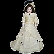Antique Kestner Closed Mouth Child Fashion Doll ~ Original Fashion Dress