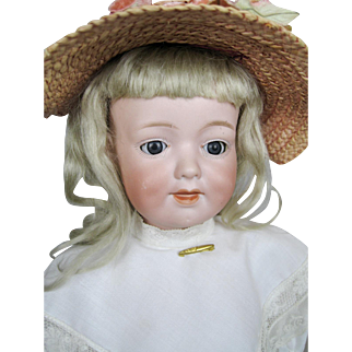 Antique 16' Armand Marseille 590 Character Toddler Doll