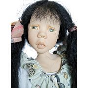 Sandi McAslan Doll Artist Limited-Edition Doll #3/150 1995 18""