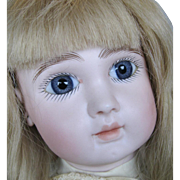 "Superb 23"" Steiner Figure A Bebe Closed Mouth French Bisque Head Doll"