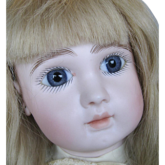 """Superb 23"""" Steiner Figure A Bebe Closed Mouth French Bisque Head Doll"""
