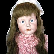 """Antique Kammer & Reinhardt #114 Gretchen 24"""" German Bisque Doll K*R"""